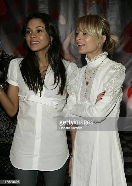 Kidada Jones and Nicole Richie wearing Kidada for Disney