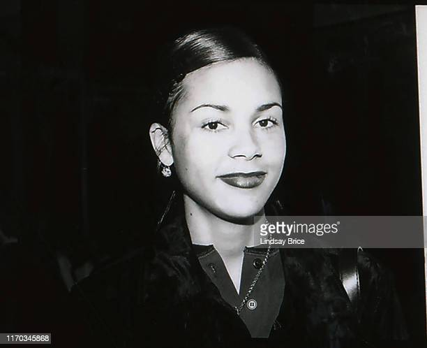Kidada Jones arrives at the ACLU Bill of Rights Dinner at the Beverly Wilshire Hotel on December 16 1996 in Beverly Hills California