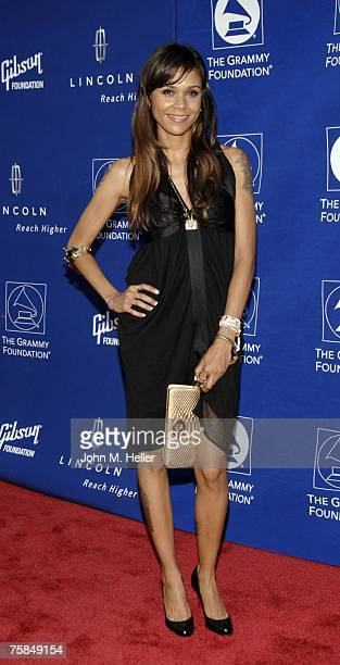 Kidada Jones attends the Grammy Foundation's Starry Night gala under the stars honoring Quincy Jones with the Grammy Foundations Leadership Award in...