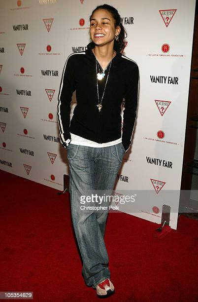 Kidada Jones during Vanity Fair Amped PreOscar Benefit at The Continental Hyatt House in Hollywood California United States