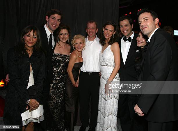 Kidada Jones John Krasinski Jenna Fischer Jennifer Garner Lauren Sanchez Ben Affleck and guests