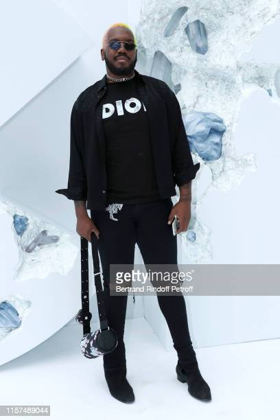 Kiddy Smile attends the Dior Homme Menswear Spring Summer 2020 show as part of Paris Fashion Week on June 21, 2019 in Paris, France.