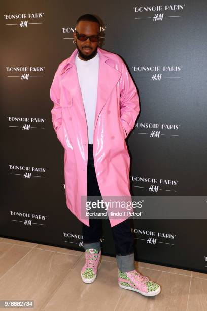 Kiddy Smile attends the HM Flaship Opening Party as part of Paris Fashion Week on June 19 2018 in Paris France