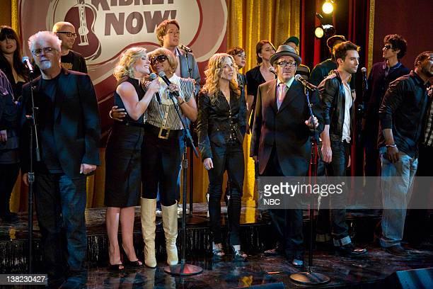 30 ROCK 'Kidney Now' Episode 322 Pictured Rachel Yamagata Michael McDonald Moby Jane Krakowski as 'Jenna' Mary J Blige Clay Aiken Sheryl Crow Norah...