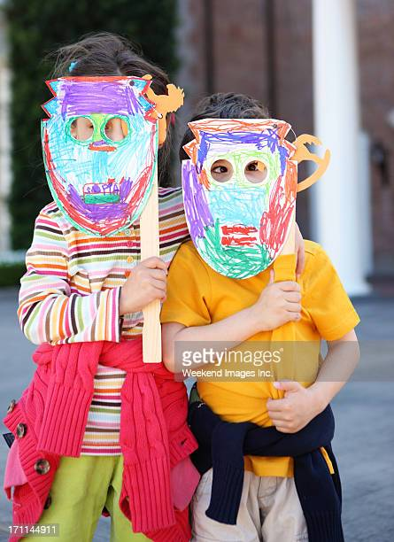 Kids and handmade craft
