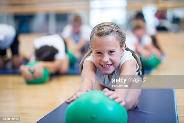 kids bender ball - physical education stock pictures, royalty-free photos & images