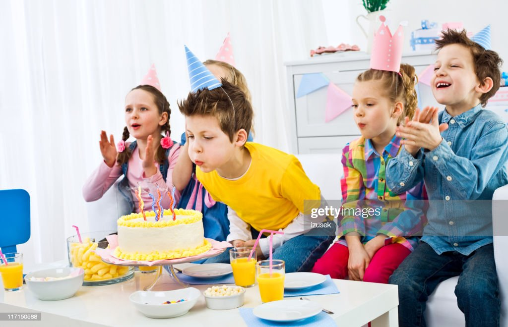 Kids birthday party : Stock Photo
