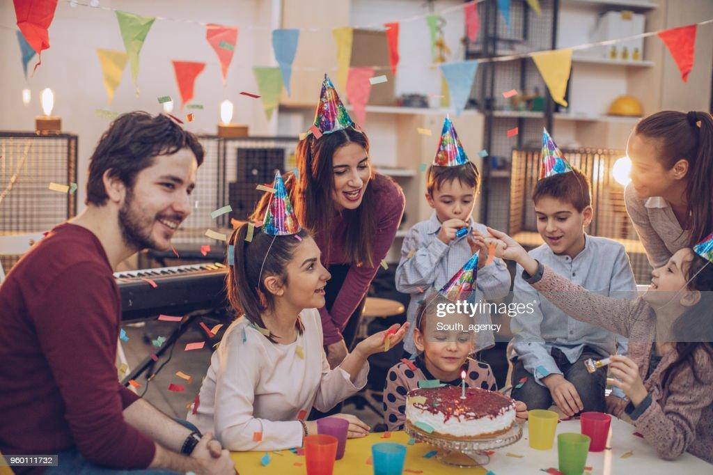 Kinder-Geburtstag : Stock-Foto