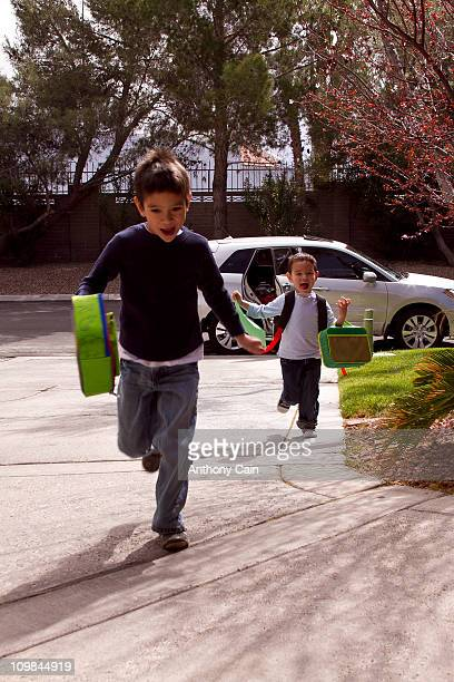 Kids coming home from school 23