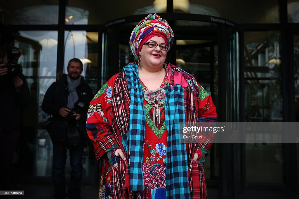 Kids Company founder Camila Batmanghelidjh arrives to attend a select committee hearing at Portcullis House on October 15, 2015 in London, England. Ms Batmanghelidjh will face questions from MPs relating to alleged mismanagement of her now defunct Kids Company charity.