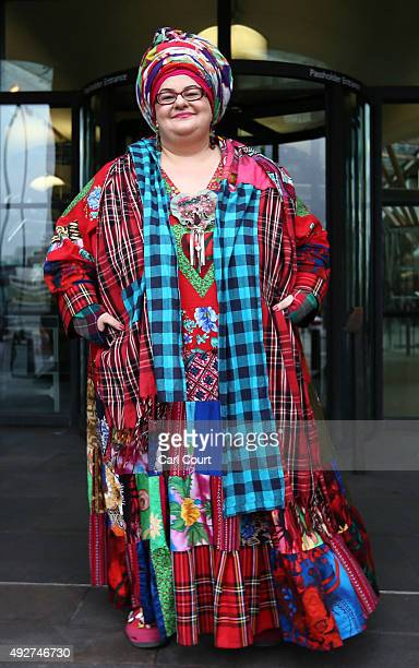 Kids Company founder Camila Batmanghelidjh arrives to attend a select committee hearing at Portcullis House on October 15 2015 in London England Ms...