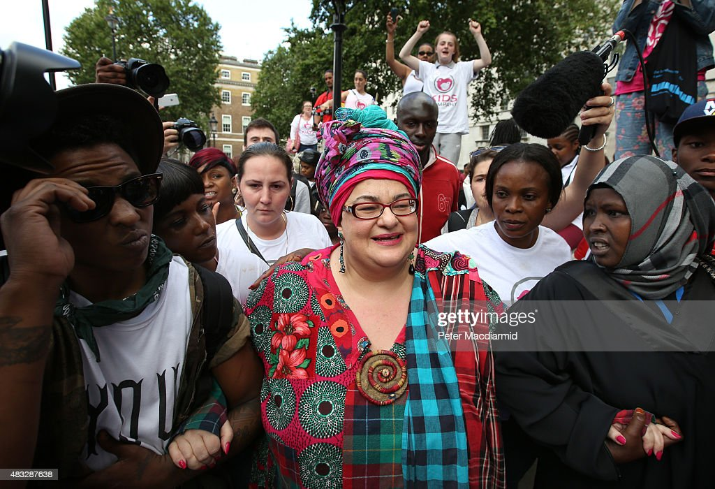 Staff Of Recently Closed Charity Kids Company March On Downing Street