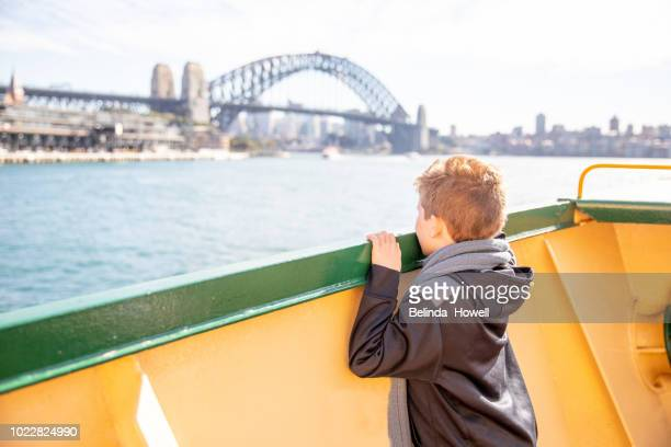 kids day out in sydney, australia - thisisaustralia stock pictures, royalty-free photos & images