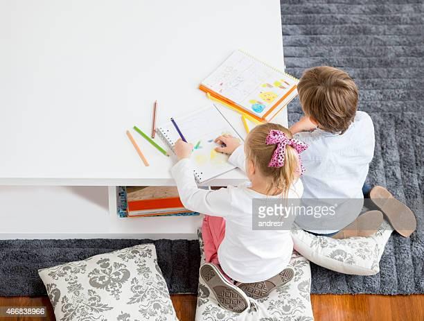 お子様には、ご自宅での描出