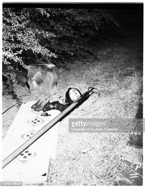 Kids drown 17 October 1951 Albert Poppe Mike Underwood Jack Brodie Charles Kurtz Jordan EickermeyerCaption slip reads 'Photographer Glickman Date...