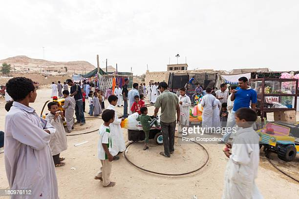 CONTENT] Kids enjoying very basic playground during the Siwa Festival in the Egyptian oasis of Siwa Western Egypt