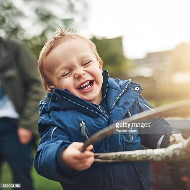 Kids find fun in everything