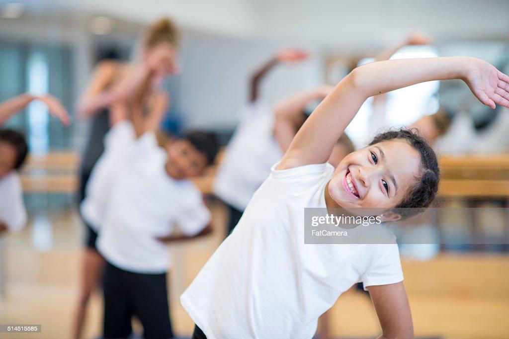 Kids fitness : Stock Photo