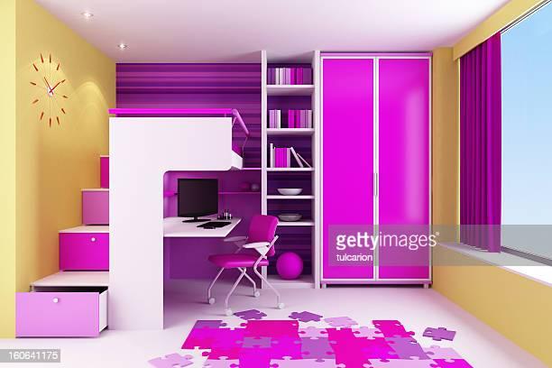 Kid's Girl's Bedroom