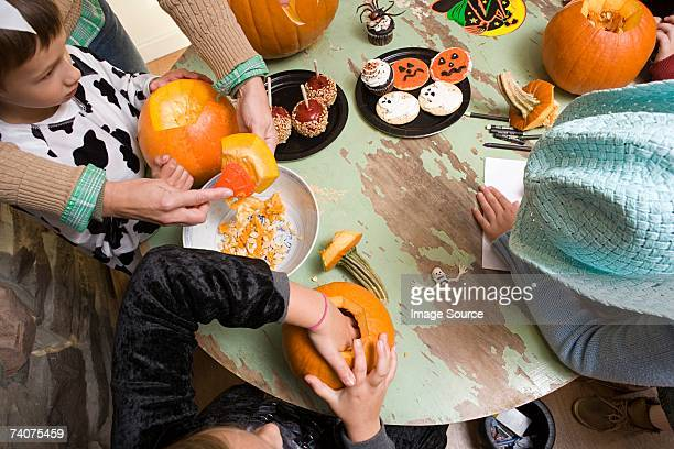 kids halloween party - halloween party stock photos and pictures