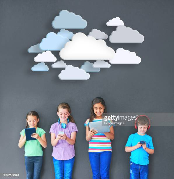 Kids keeping connected