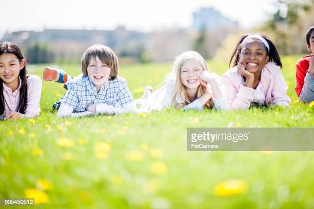 子供の草に敷設