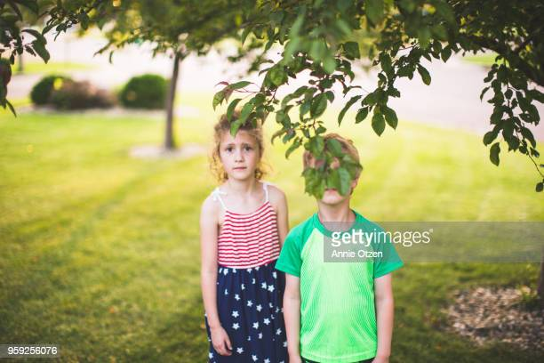 Kids Outside On a Sunny Summer Day