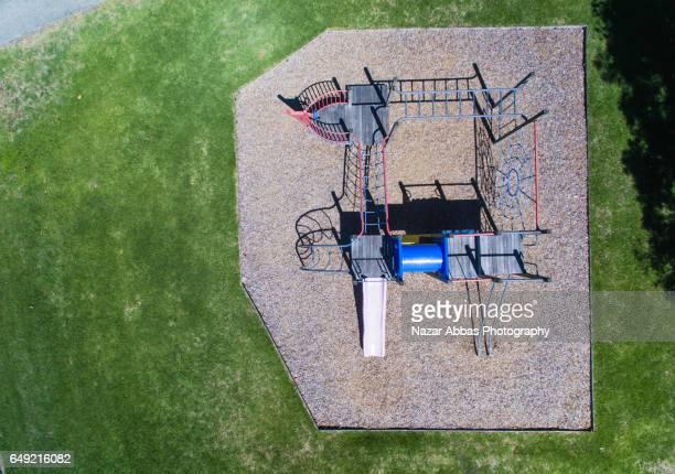 Kids Playground Aerial View.