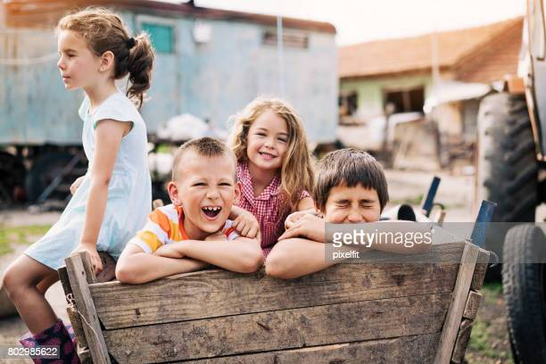 kids playing in the ghetto - orphan stock pictures, royalty-free photos & images