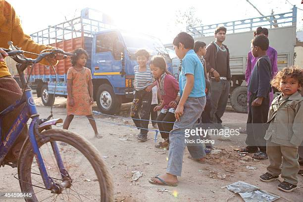 Kids playing New Delhi 01