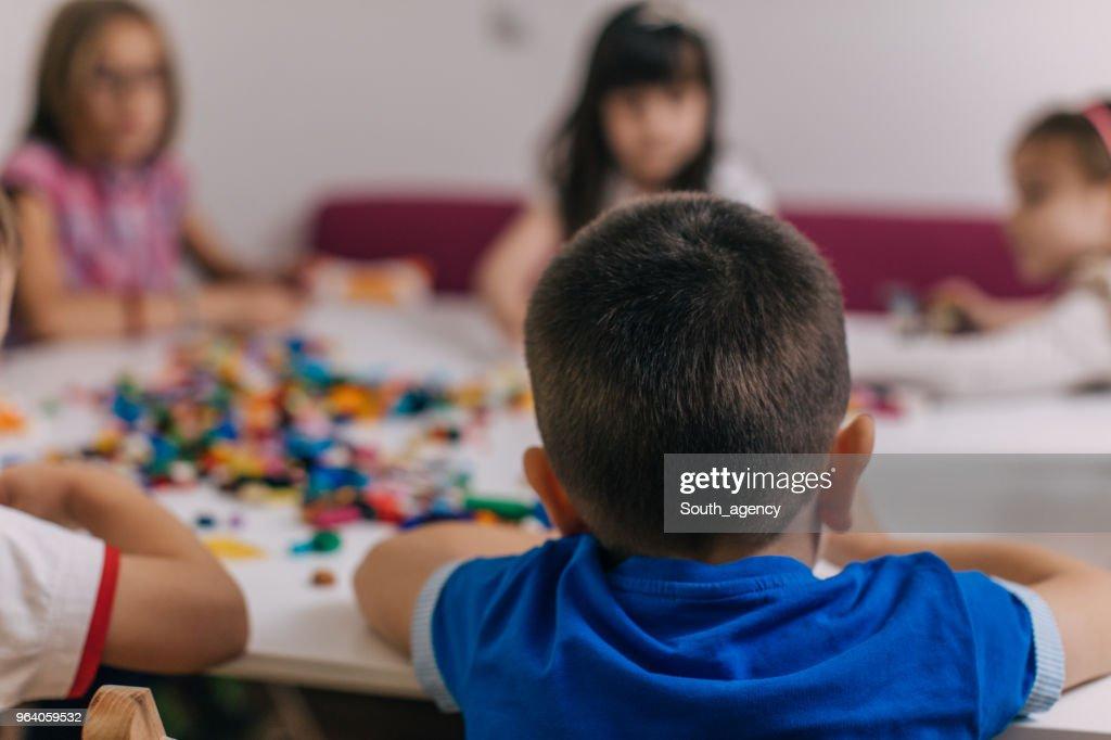 Kids playing : Stock Photo