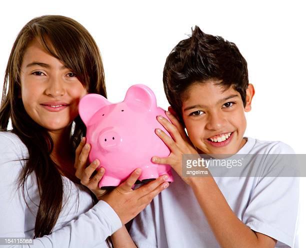 Kids saving for the future