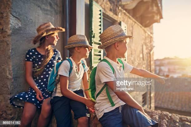 Kinderen attracties van de prachtige Italiaanse stad in Toscane