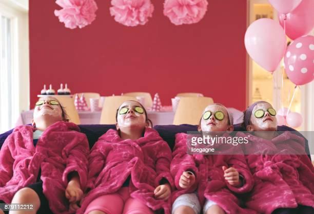 Kids Spa Birthday Party