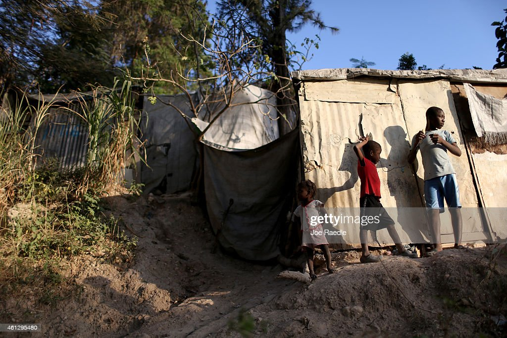 Five Years After Haiti's Devastating Earthquake, Impoverished Country Continues Slow Recovery : News Photo