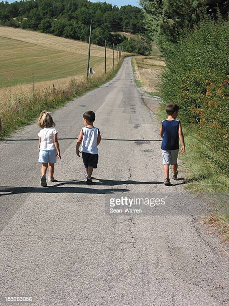 Kids Walking