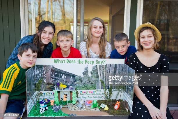 Kids winner of Peeps contest Six kids from this Bethesda neighborhood collaborated on the What Does the Peep Say diorama a parody on the YouTube...
