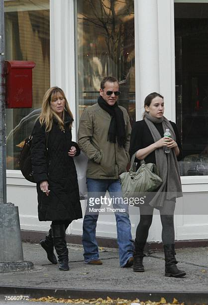 Kiefer Sutherland and Sarah Jude Sutherland *Exclusive Coverage*