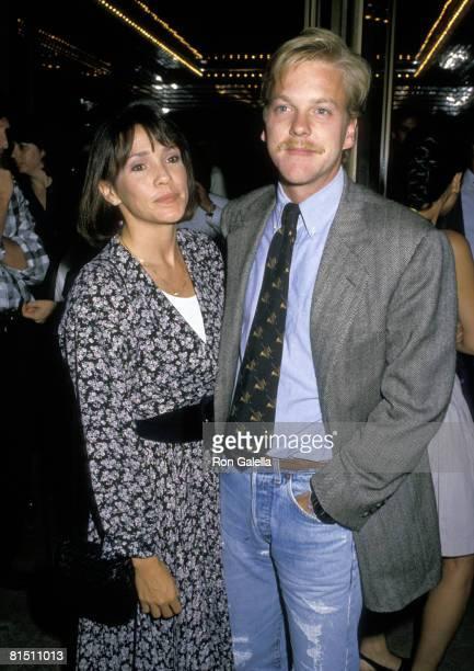 Kiefer Sutherland and Wife Camelia Kath