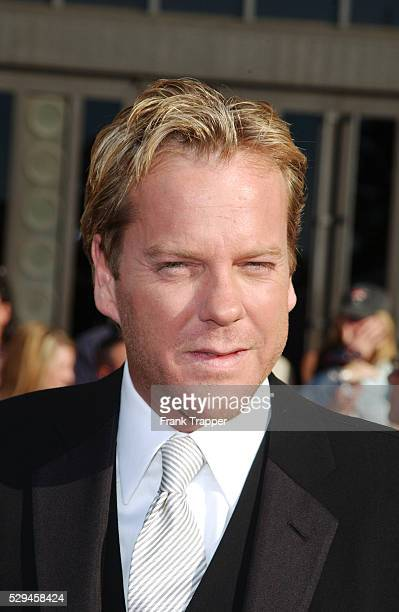 Kiefer Sutherland arrives at the 8th annual Screen Actors Guild Awards