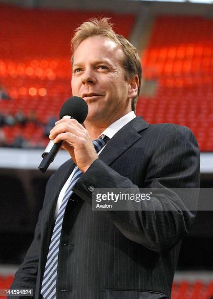 Kiefer Sutherland at The Concert for Diana Wembley Stadium London 1st July 2007 Job 24804