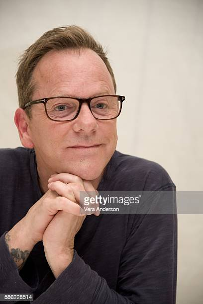 Kiefer Sutherland at the 'Designated Survivor' Press Conference at the Four Seasons Hotel on August 5 2016 in Beverly Hills California
