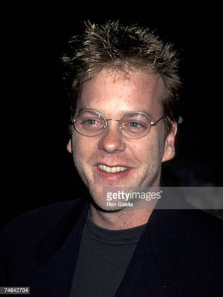 Kiefer Sutherland at the Paramount Studios in Hollywood California