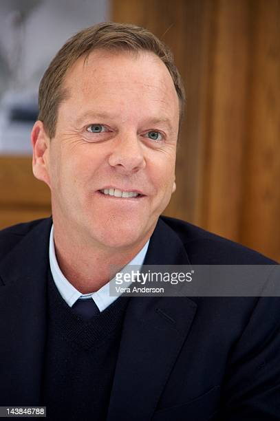 Kiefer Sutherland at the 'Touch' Press Conference on May 2 2012 in West Hollywood California