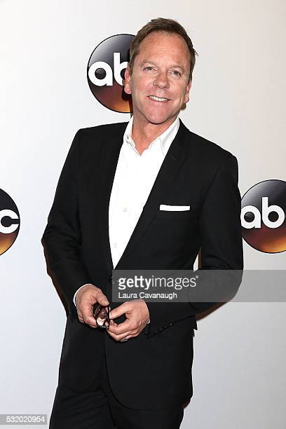 Kiefer Sutherland attends 2016 ABC Upfront at David Geffen Hall on May 17 2016 in New York City