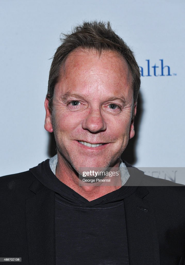 Kiefer Sutherland attends 'Forsaken' TIFF party hosted by Remy Martin and Holliswealth during the 2015 Toronto International Film Festival at Weslodge on September 16, 2015 in Toronto, Canada.