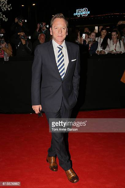 Kiefer Sutherland attends MIPCOM Opening Party at Martinez Hotel on October 17 2016 in Cannes France
