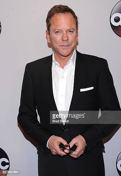 Kiefer Sutherland attends the 2016 ABC Upfront at David Geffen Hall on May 17 2016 in New York City
