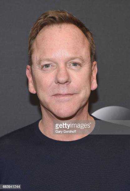Kiefer Sutherland attends the 2017 ABC Upfront event on May 16 2017 in New York City