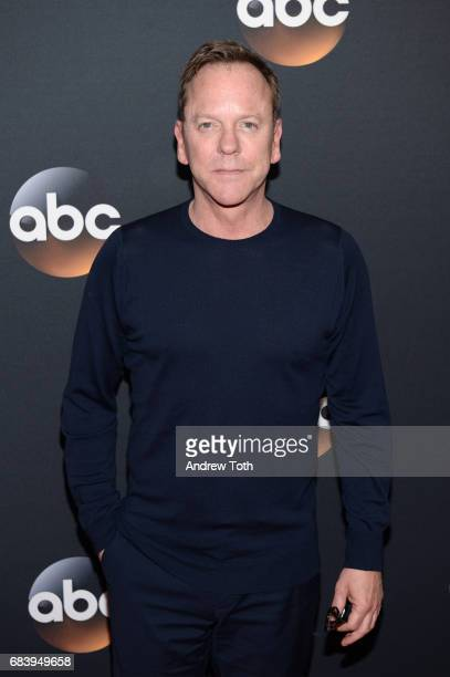 Kiefer Sutherland attends the 2017 ABC Upfront on May 16 2017 in New York City